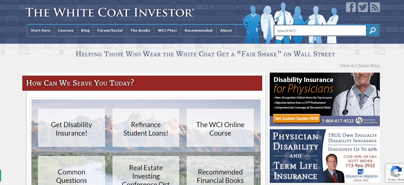 The-White-Coat-investor blog