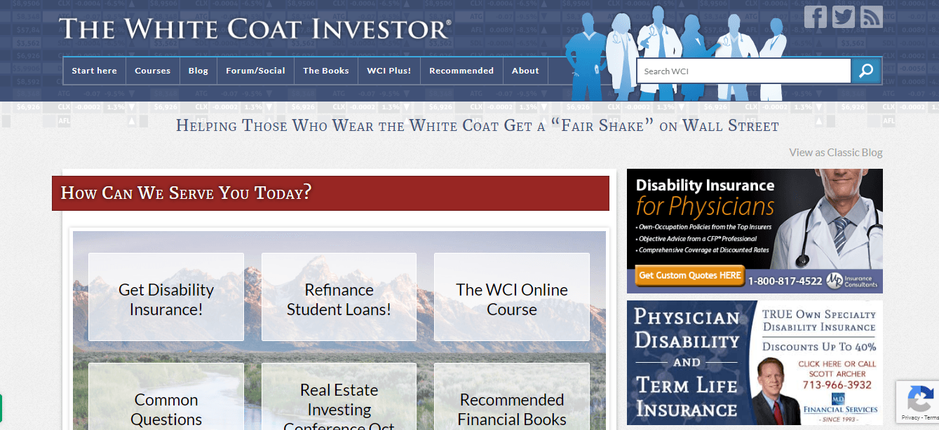 The-White-Coat-investor blog